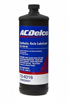 AC Delco Synthetic Rear-Axle Lubricant 75W-90 1л